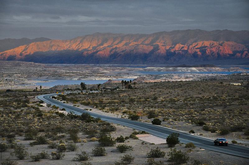 Lakeshore Road at Lake Mead