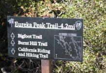 Eureka Peak Driving Trip