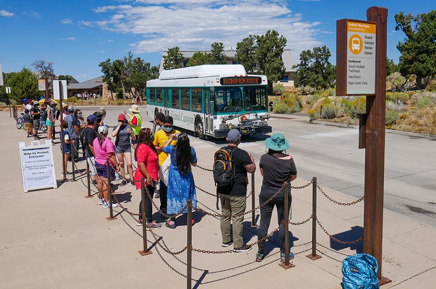 Grand Canyon National Park Announces Spring 2021 Shuttle Bus Schedule