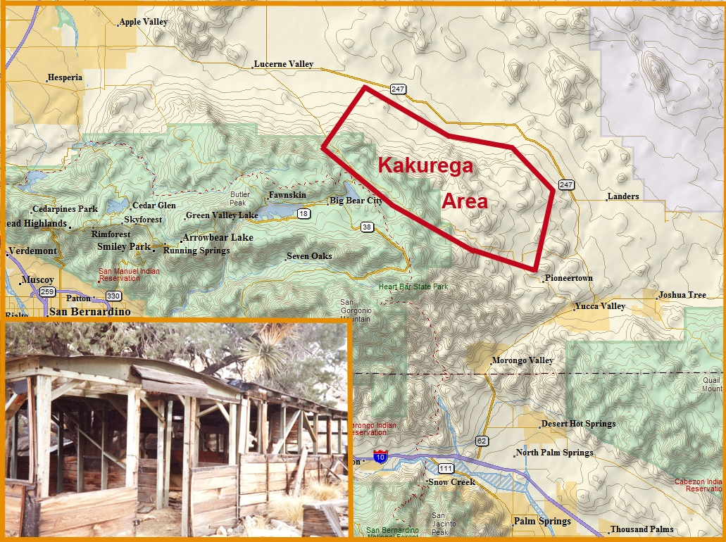 Kakurega In The Mojave Desert