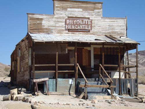 The Rhyolite Mercantile.