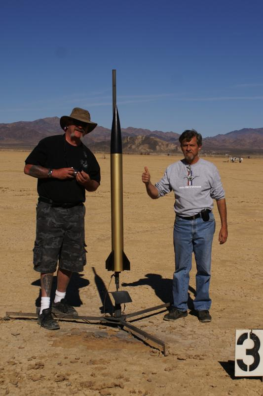 Showing Off a Rocket Before a Launch