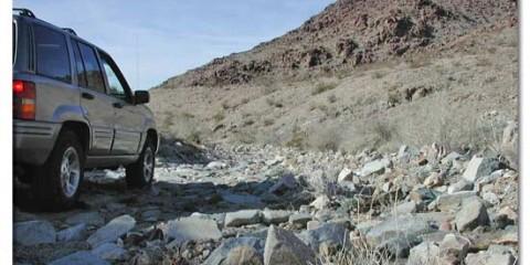 lost car in desert