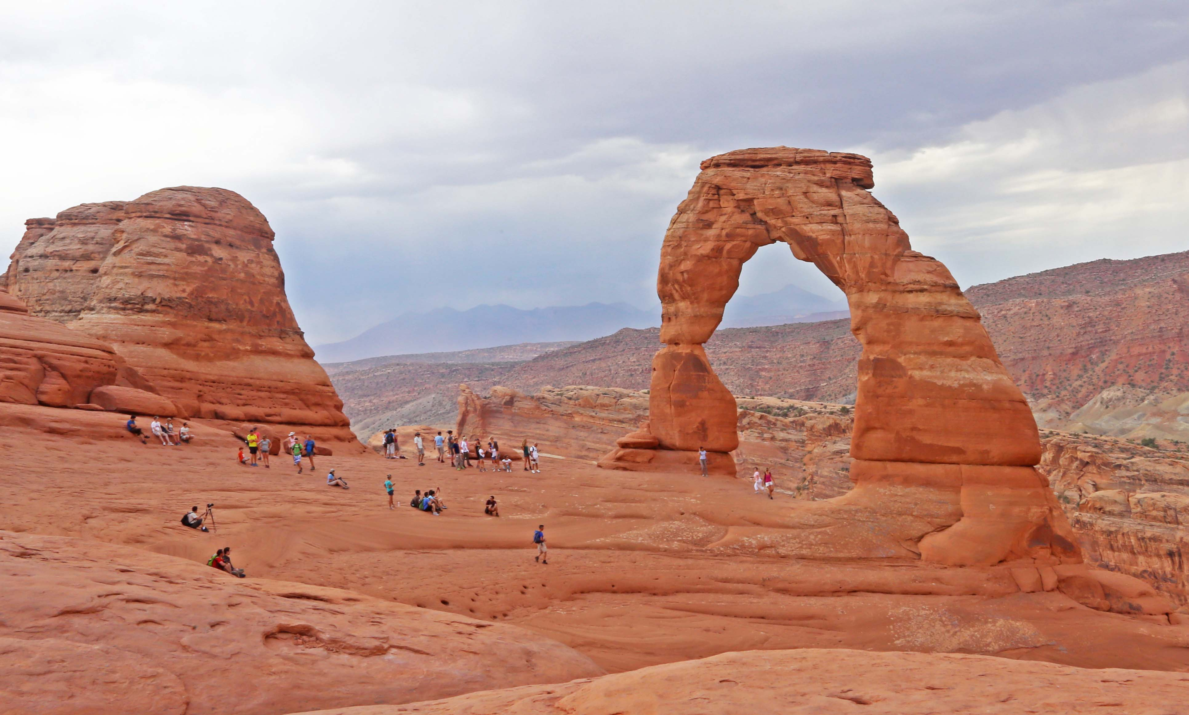 Another photo of Delicate Arch.