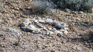 Rock peace sign