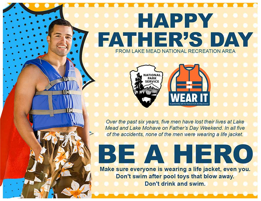 Be a Hero- Wear a life vest