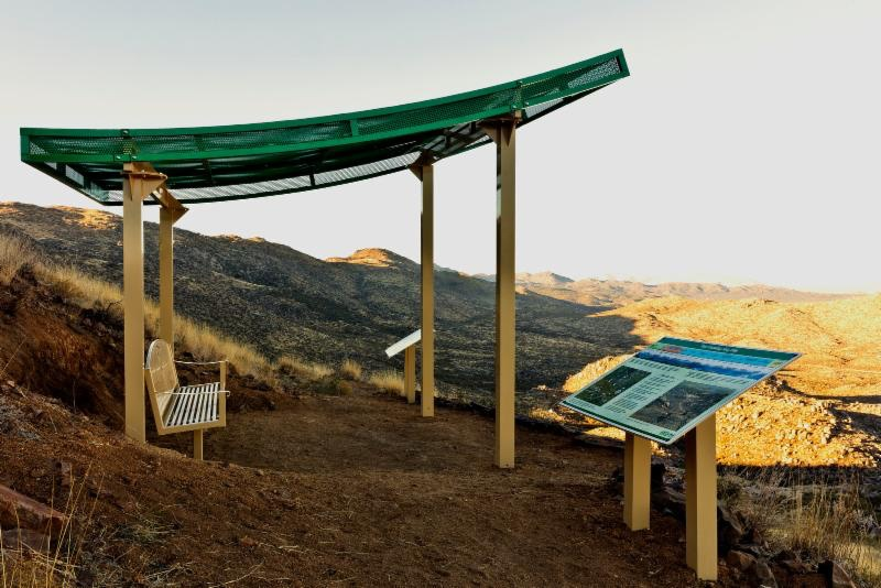 The memorial site. Arizona State Parks photo.