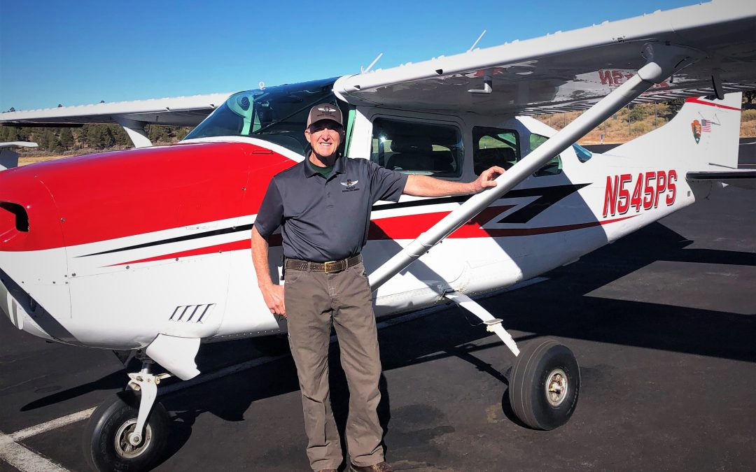 Grand Canyon National Park Pilot Galen Howell Recognized as 2020 NPS Aviator of the Year