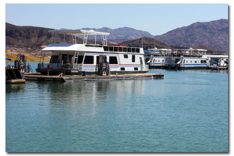 Lake Mead Houseboat