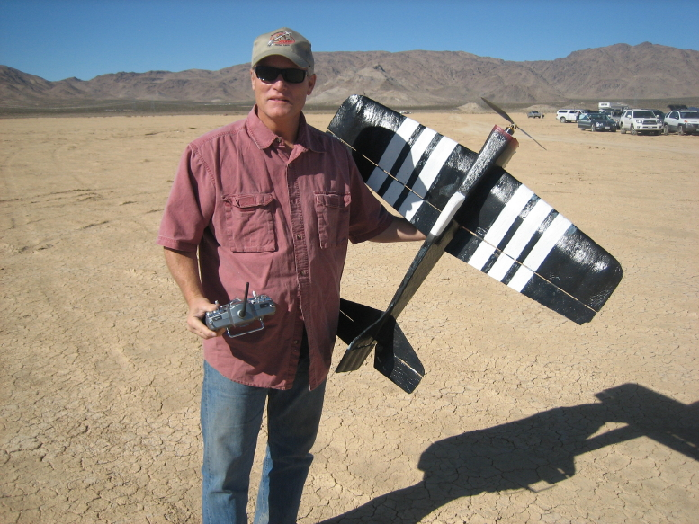 The Proud Owner of a Remote Controlled Airplane
