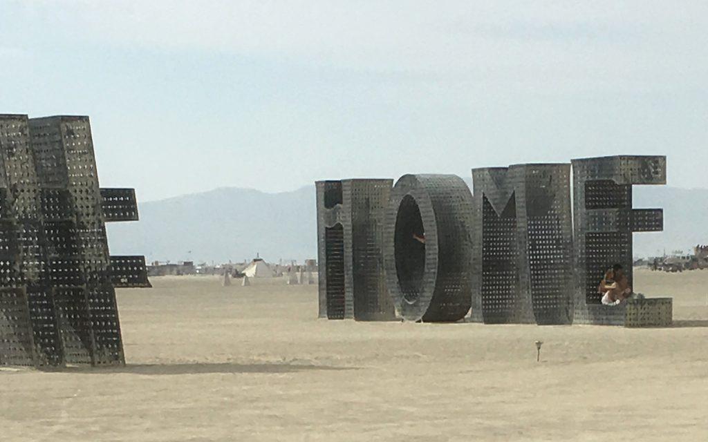 Home at Burning Man