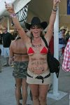 Another corn fed cowgirl.
