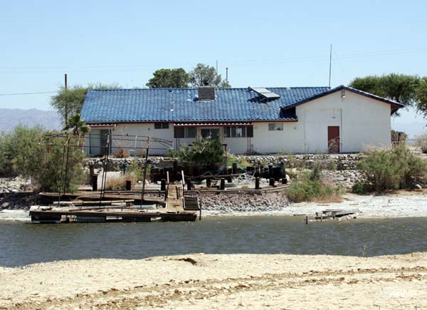 A house at Salton City.