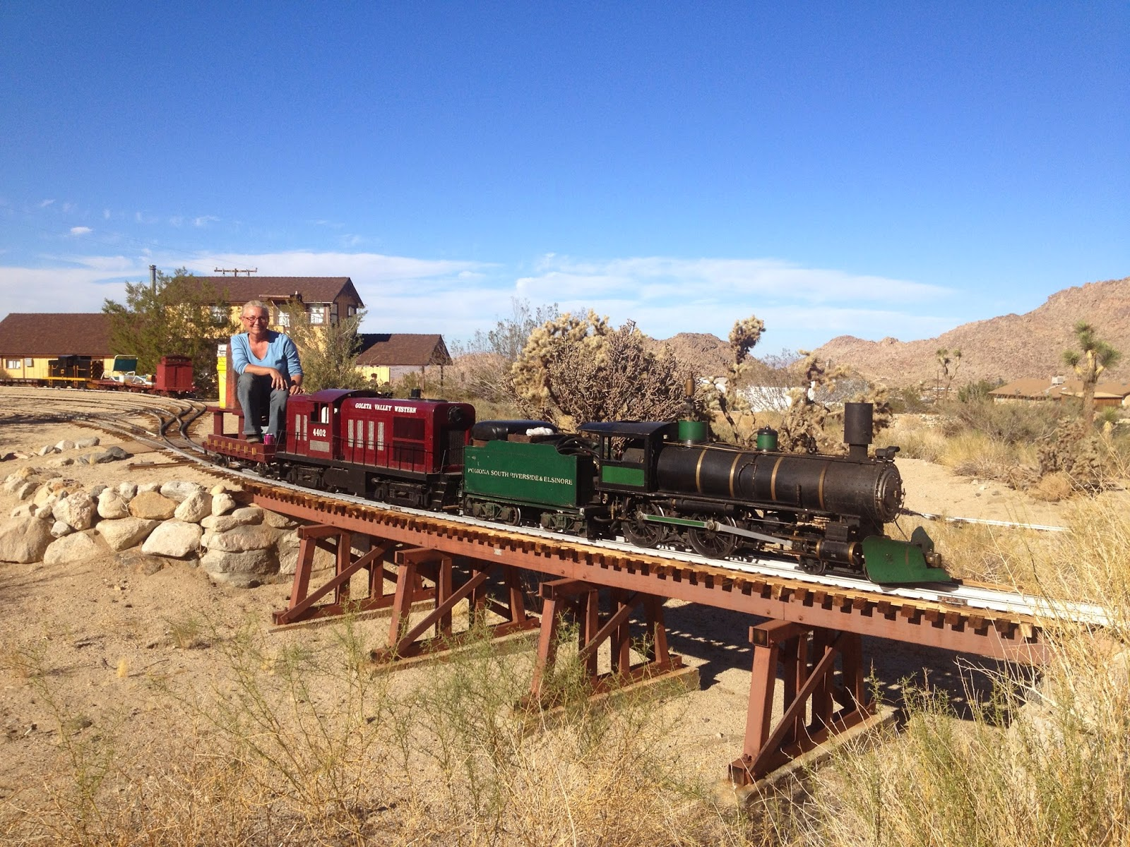 joshua tree so railroad museum u0026 narrow gauge railroad desert
