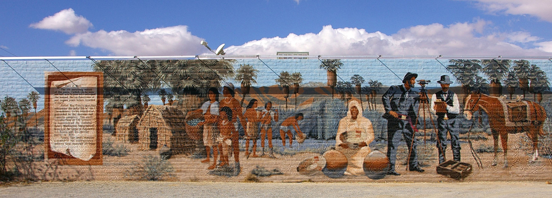 29 Palms Mural of Henry Washington