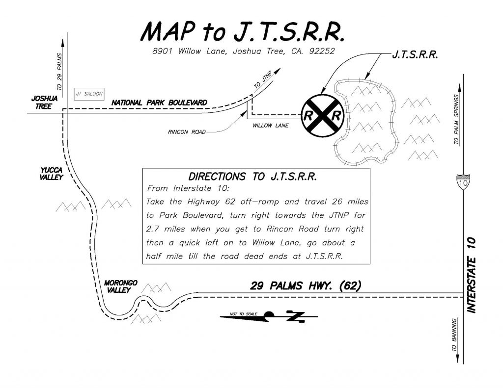 Map to Museum