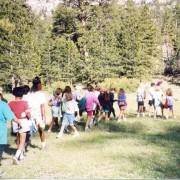 leading a hike