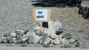 Rocks for free