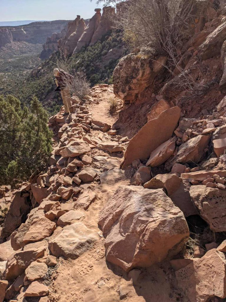 Erosion on Trail