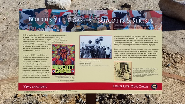 California State Parks Invites Public to Virtually Commemorate the Contributions of César Chávez to Borrego Springs