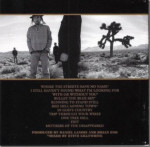"I Love the U2 Album ""The Joshua Tree"", Do U2?"