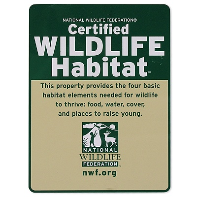 Certified Backyard Habitat gardening for wildlife - desert road trippin'