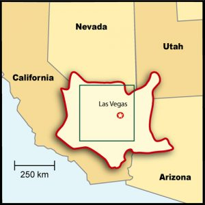 Mojave Desert Map #3
