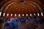 Integratron As Guests Get A Sound Bath Today