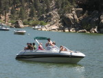 Boating at Big Bear