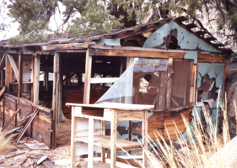 Main Cabin at Kitchen, 1982