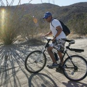 The weather was perfect for an afternoon bike ride in Coyote Canyon.