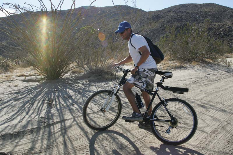 Mountain Biking In Coyote Canyon Anza Borrego Desert State Park