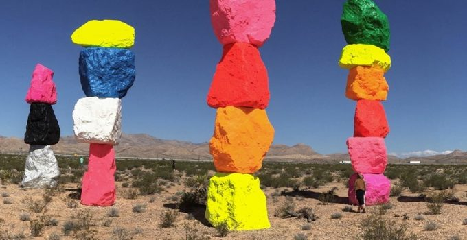 Seven Magic Mountains on View for Two Years