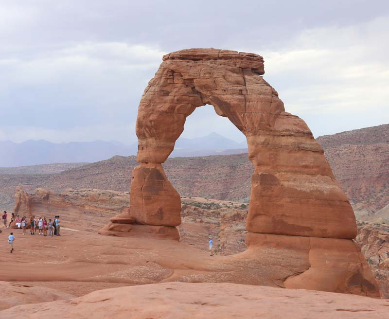 Delicate Arch.  Photo by Lynn Bremner.