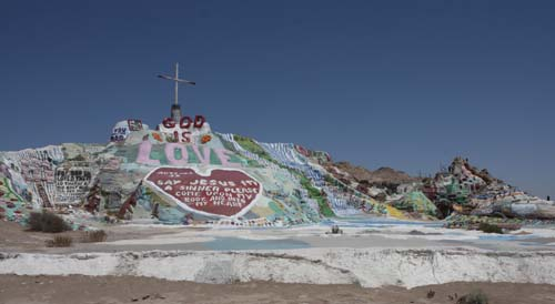 Road Trip #12, Part 1: From Salton Sea to Salvation Mountain and Slab City.