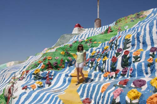 Road Trip #12, Part 2: From Salton Sea to Salvation Mountain and Slab City.