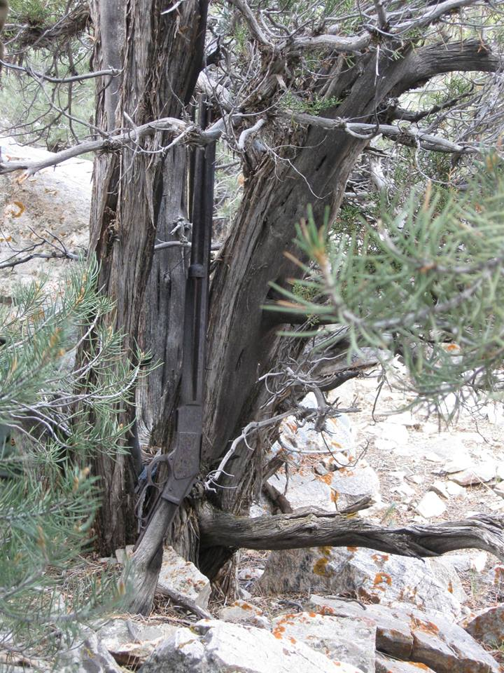 Winchester Model 1873 Rifle Recovered In Great Basin Np