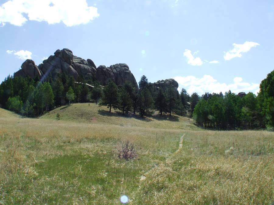Twin Rock at Florissant Fossil Beds