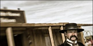 Actor portraying Wyatt Earp.
