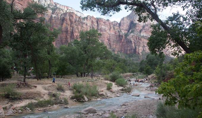 Hiking Zion Canyon National Park