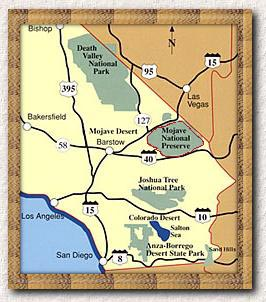 Historical Map Southern California Parks Overview