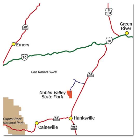 Goblin Valley State Park UT  DesertUSA
