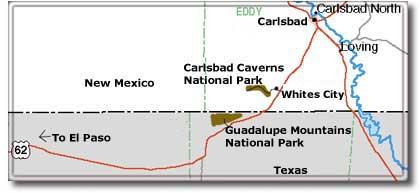 Rental Cars Mesa Airport Carlsbad Caverns National Park: Climate, Geography, Map (DesertUSA)
