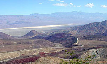 View of West Side of Death Valley