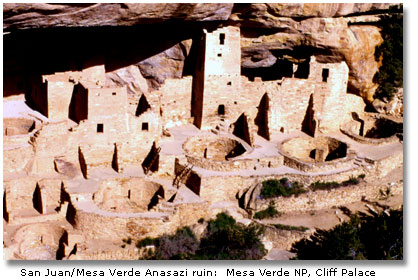 Native American Locations In The Deserts DesertUSA - Archaeological sites in the southwest us map