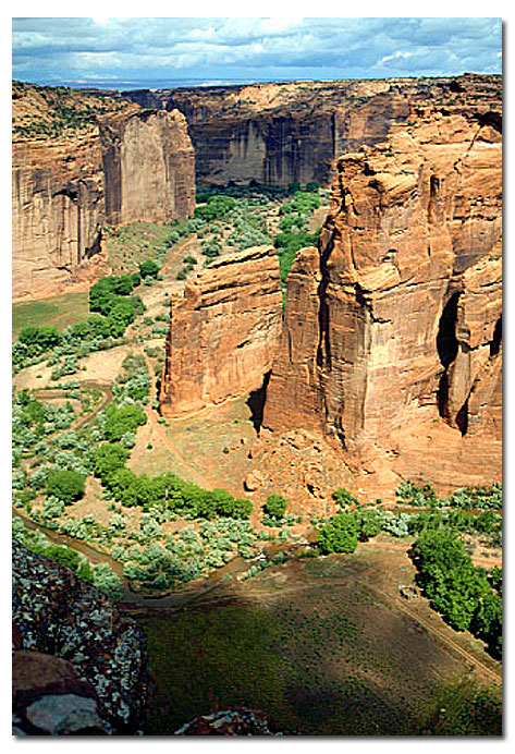 Canyon De Chelly National Monument Camping Lodging