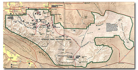Desert Maps National Park Maps PDF DesertUSA
