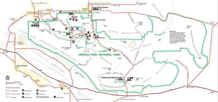 joshua tree trail map - Teacheng.us