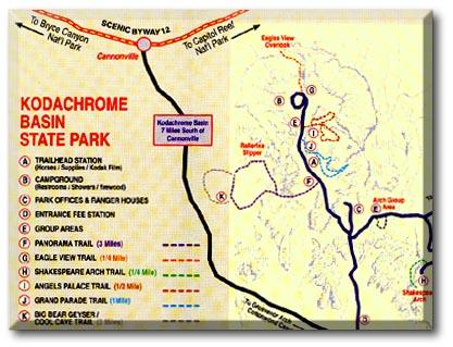 Kodachrome Basin State Park UT DesertUSA