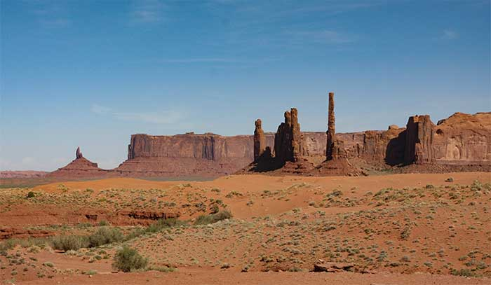 Map Of Arizona Monument Valley.Monument Valley Navajo Tribal Park Desertusa